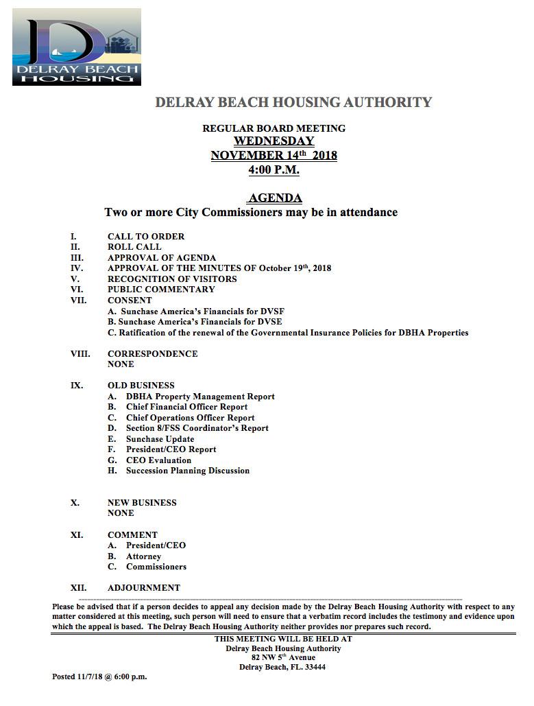DBHA-agenda-nov-14-18