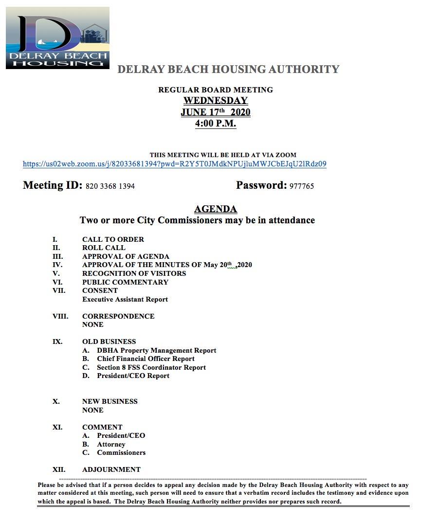 DBHA-Agenda-June-17th-2020